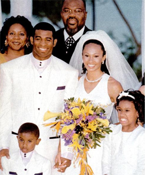Td Jakes Daughters Wedding.It S Over After 12 Years Of Marriage Deion Pilar Sanders