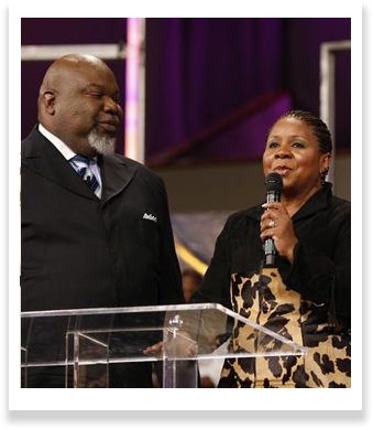 Bishop TD Jakes/First Lady Serita Jakes